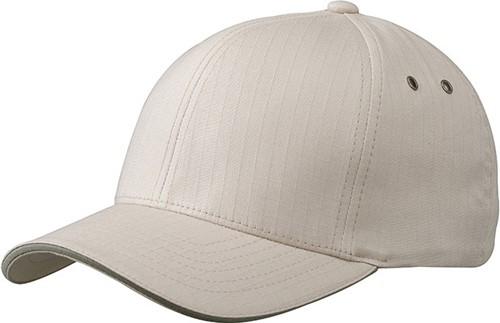 MB6187 Flexfit® Ripstop Sandwich Cap - Khaki/olijf - L/XL