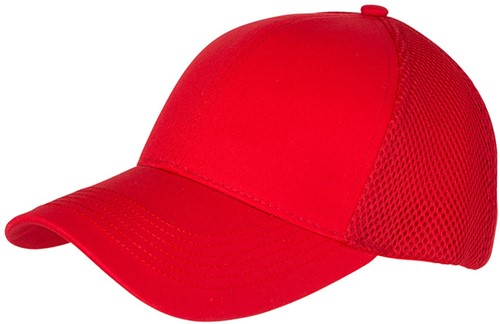 MB6216 6 Panel Air Mesh Cap - Rood - One size