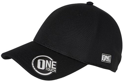 MB6221 Seamless OneTouch Cap - Zwart - L/XL