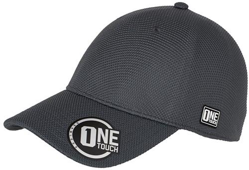MB6221 Seamless OneTouch Cap - Grafiet - L/XL