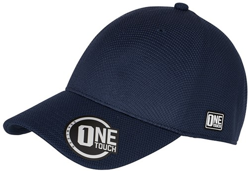 MB6221 Seamless OneTouch Cap - Navy - S/M