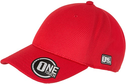 MB6221 Seamless OneTouch Cap - Rood - S/M