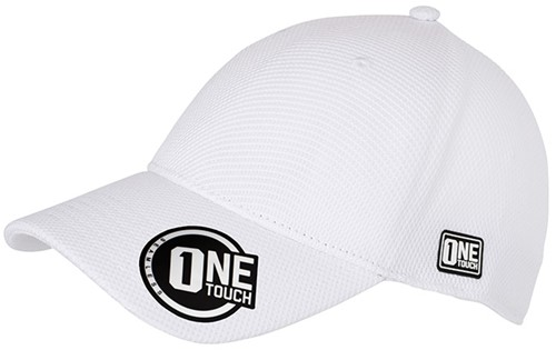 MB6221 Seamless OneTouch Cap - Wit - L/XL