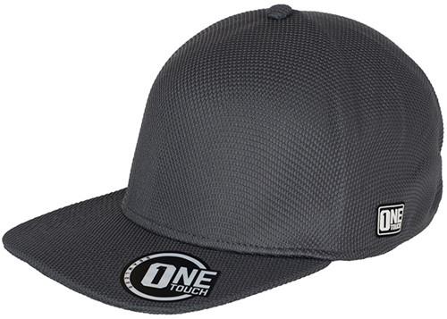 MB6222 Seamless OneTouch Flat Peak Cap