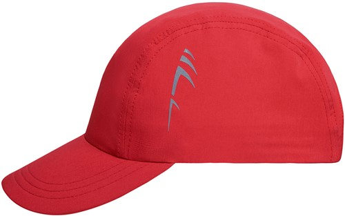 MB6228 3 Panel Cap - Rood - One size