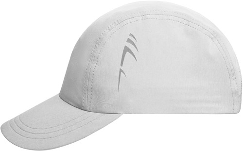 MB6228 3 Panel Cap - Wit - One size