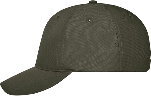 MB6235 6 Panel Workwear Cap - COLOR - - Olijf - One size
