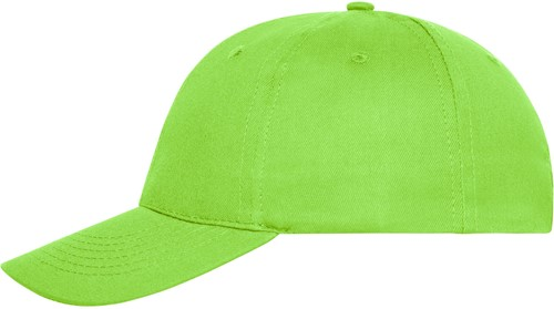 MB6236 6 Panel Cap Bio Cotton - Lime - One size
