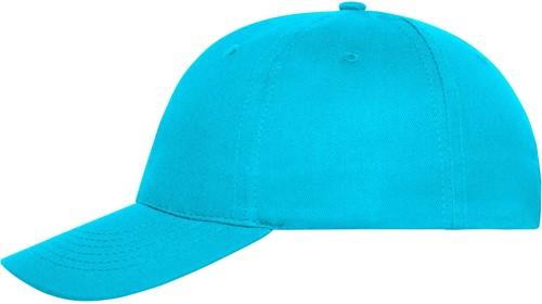 MB6236 6 Panel Cap Bio Cotton - Turquoise - One size