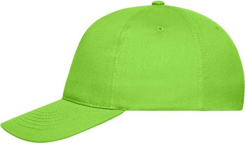 MB6237 5 Panel Cap Bio Cotton - Lime - One size