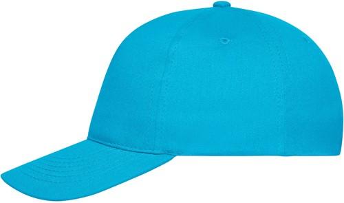MB6237 5 Panel Cap Bio Cotton - Turquoise - One size