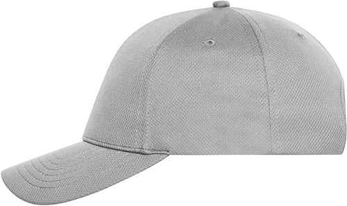 MB6241 6 Panel Sports Cap - Grijs - One size
