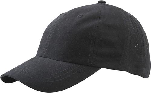 MB6538 Laser Cut Cap - Zwart - One size