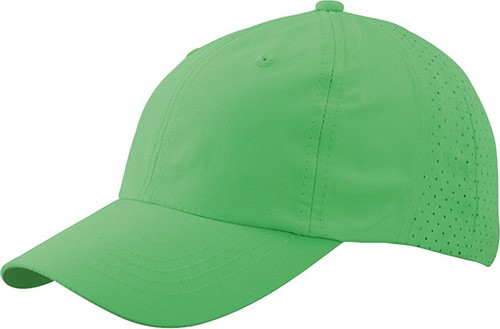 MB6538 Laser Cut Cap - Lime - One size