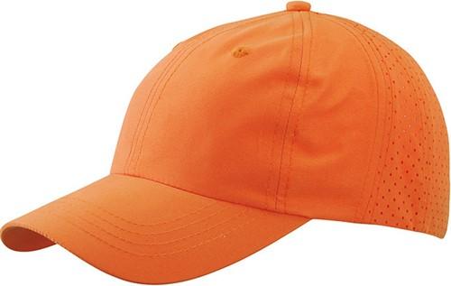MB6538 Laser Cut Cap - Oranje - One size