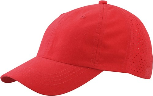 MB6538 Laser Cut Cap - Rood - One size