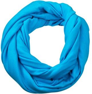 MB6578 Heather Summer Loop-Scarf - Turquoise-melange - 75 x 80 cm