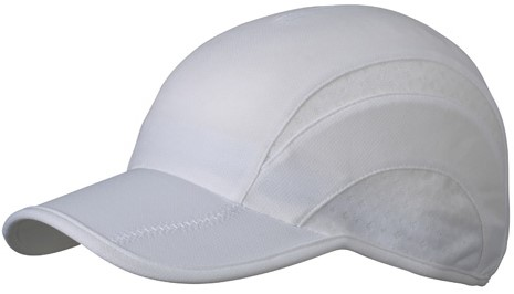 MB6580 3 Panel Sports Cap - Wit/wit - One size