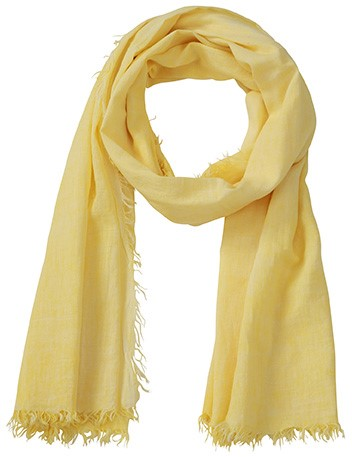 MB6594 Gipsy Scarf - Lichtgeel - One size