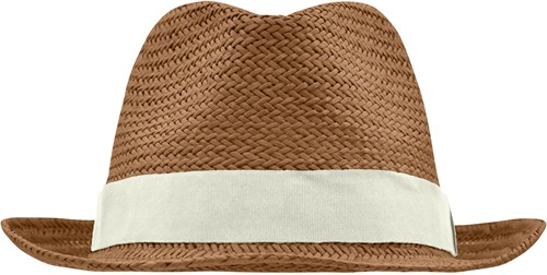 MB6597 Urban Hat - Nougat/gebroken wit - L/XL