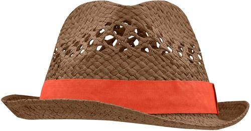 MB6598 Summer Style Hat - Nougat/grenadine - S/M