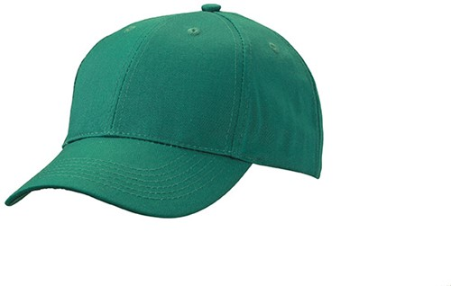 MB6621 6 Panel Workwear Cap - STRONG - - Donkergroen - One size
