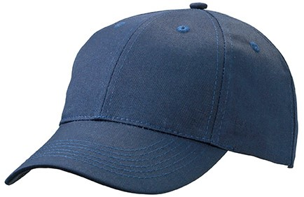 MB6621 6 Panel Workwear Cap - STRONG - - Navy - One size