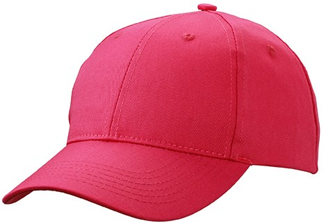 MB6621 6 Panel Workwear Cap - STRONG - - Roze - One size
