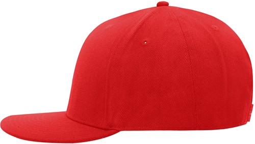MB6634 6 Panel Pro Cap Style - Rood/rood - One size