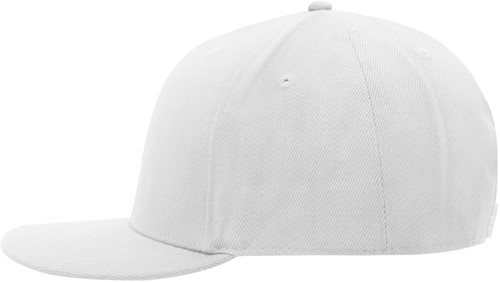 MB6634 6 Panel Pro Cap Style - Wit/wit - One size