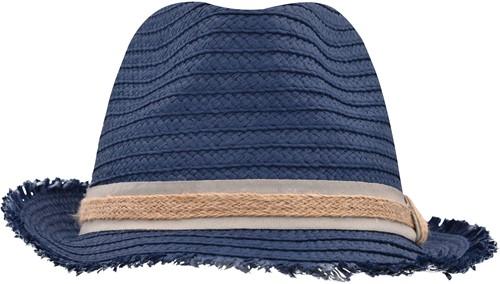 MB6703 Trendy Summer Hat - Denim/zand - S/M