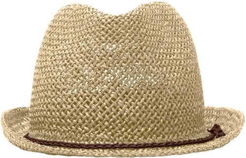 MB6705 Summer Hat - Zand/bruin - S/M