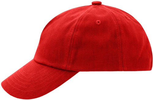 MB7010 5 Panel Kids' Cap - Signaal-rood - One size