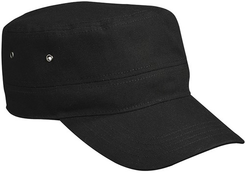 MB7018 Military Cap for Kids - Zwart - One size