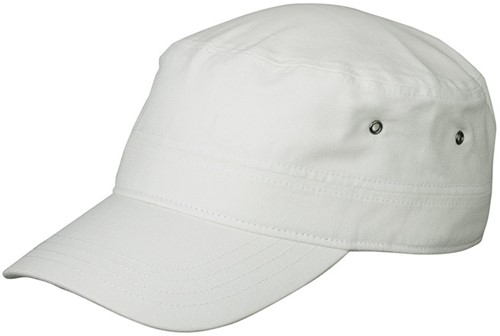 MB7018 Military Cap for Kids - Wit - One size