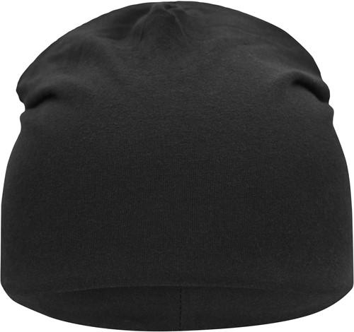 MB7100 Jersey Beanie - Zwart - One size