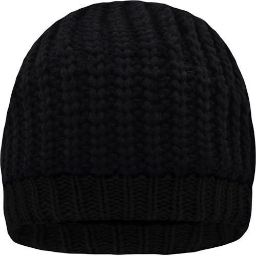 MB7103 Wintersport Hat - Zwart/zwart - One size