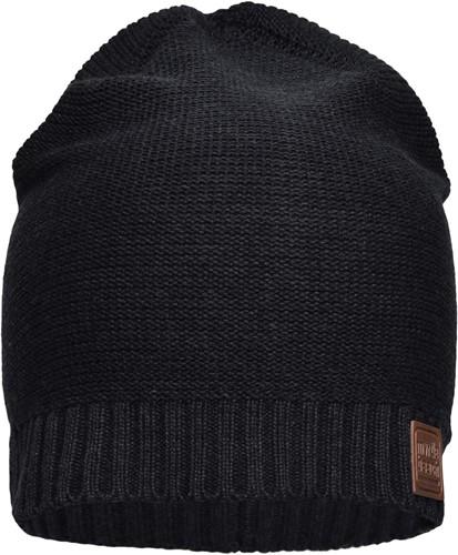 MB7109 Cotton Hat - Zwart - One size