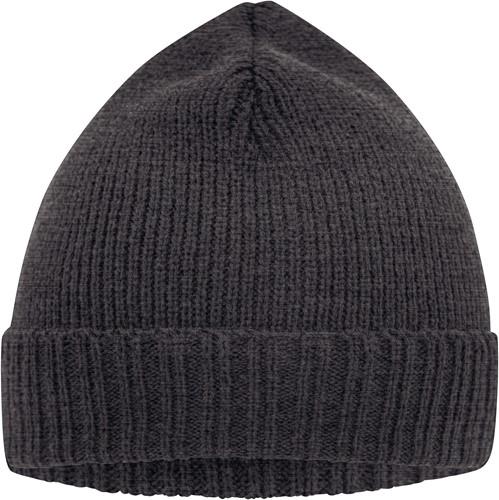 MB7111 Basic Knitted Beanie - Grijs-melange - One size