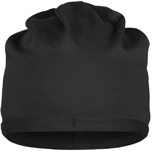 MB7113 Bio Cotton Beanie - Zwart - One size