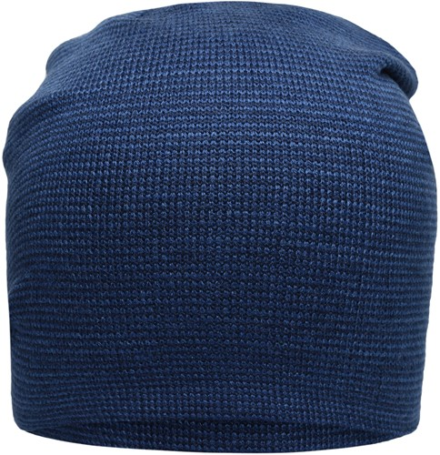 MB7118 Casual Long Beanie - Denim/navy - One size