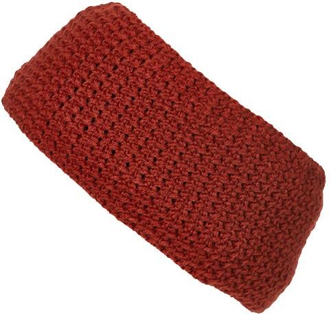 MB7119 Fine Crocheted Headband - Verbrand-oranje - One size