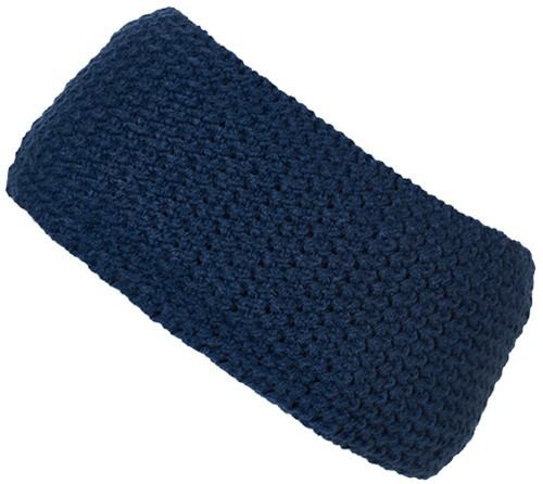 MB7119 Fine Crocheted Headband - Indigo blauw - One size