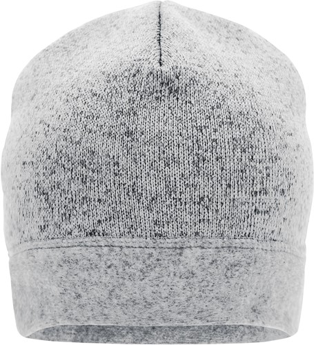MB7121 Knitted Fleece Workwear Beanie - STRONG - - Wit-melange/carbon - One size
