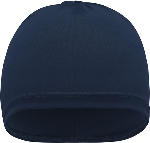 MB7125 Running Beanie - Navy - One size