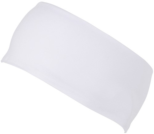 MB7126 Running Headband - Wit - One size