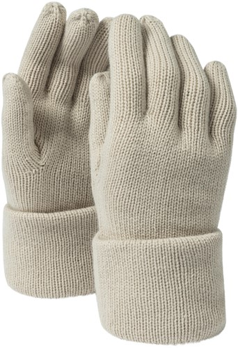 MB7133 Fine Knitted Gloves - Zand - S/M