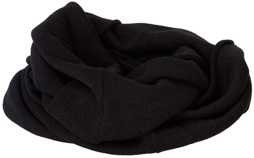 MB7302 Roll-Up Scarf - Zwart - One size
