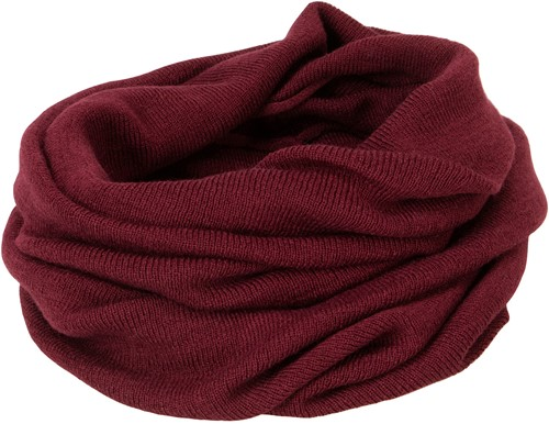 MB7302 Roll-Up Scarf - Donkerrood - One size