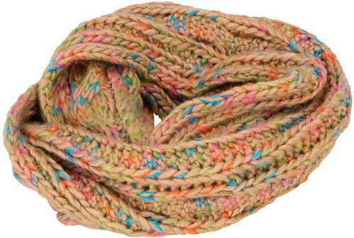 MB7303 Fancy Yarn Scarf - Naturel-melange - One size